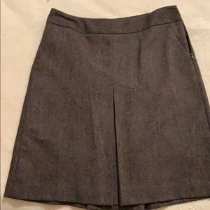 🍭3/$30🍭 Knee length lined brown pleated skirt